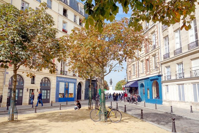 Paris Place Dauphine Le Charme Du Paris Carte Postale