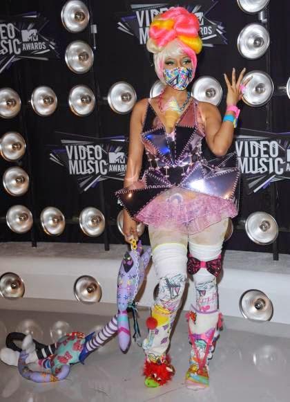 Worst Dressed Singer nicki minaj
