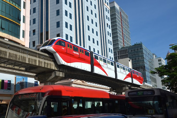 KL Monorail Four-Car Trains Back In Service Soon #RapidKL