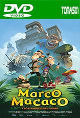 Marco Macaco y los primates del Caribe (2012) DVDRip