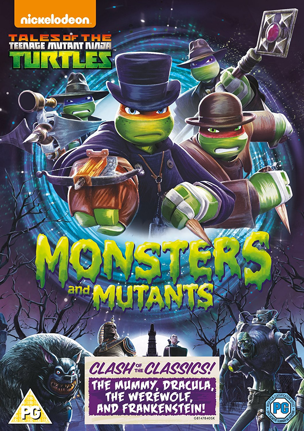 the werewolf and dr frankenstein in the brand new tales of the teenage mutant ninja turtles dvd teenage mutant ninja turtles monsters and mutants
