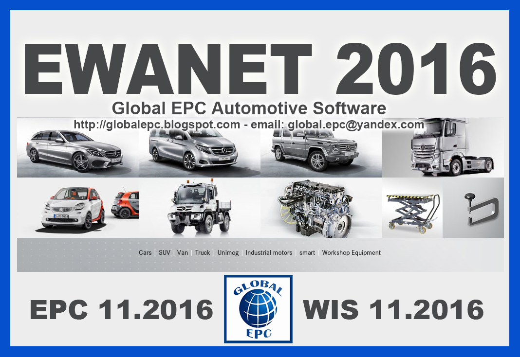 Global epc automotive software mercedes benz smart ewanet for Mercedes benz global
