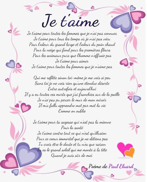 La poésie d'amour de Paul Eluard (1895-1952).