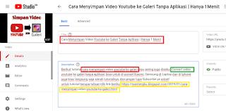 cara agar video youtube ada di peringkat 1