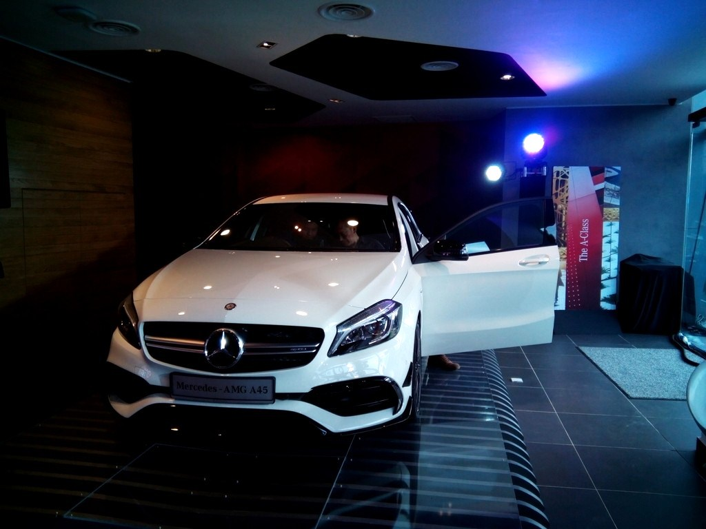 Motoring-Malaysia: Mercedes Benz A-Class facelift launched