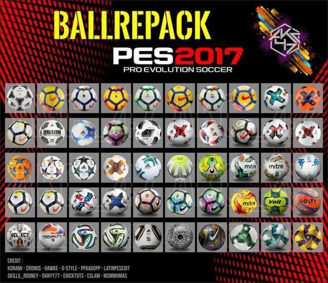 Balls Repack 2018 PES 2017