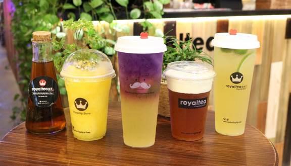 Royal Tea - hứa hẹn mang lại cho bạn những điều tuyệt với nhất