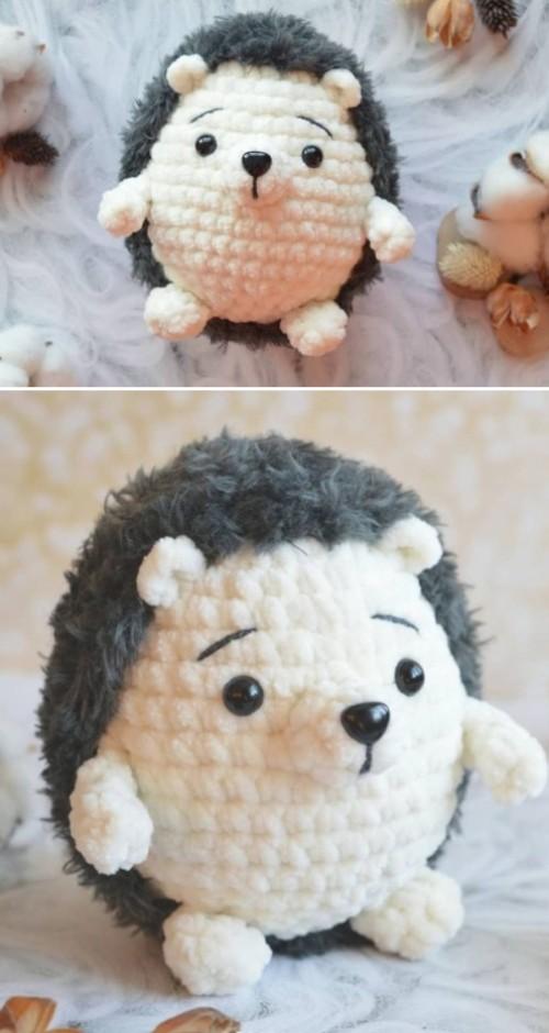 Amigurumi Hedgehog - Free Pattern