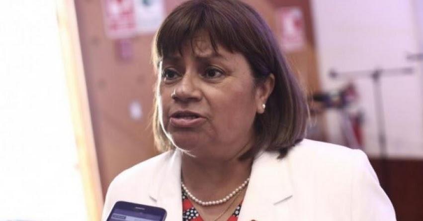 Zulema Tomás Gonzáles asumirá como la nueva Ministra de Salud - MINSA - www.minsa.gob.pe