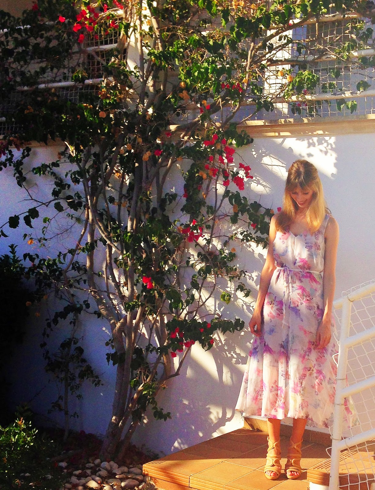 Floral Warehouse Dress