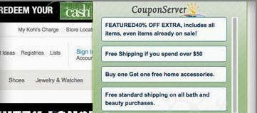 eliminar extension coupon server