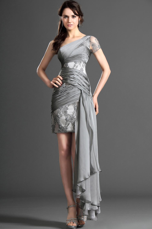 0f830044f6b Robe de soiree gris argent – Robes de soirée élégantes populaires en ...