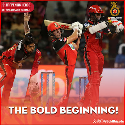 RCB, Royal Challengers Bangalore, RCB v KXIP IPL 2018, Royal Challengers Bangalore 2018, RCB Team 2018, Umesh Yadav, AB de Villiers, Washington Sundar, IPL, IPL 2018, Indian Premiere League, M. Chinnaswamy Stadium, Ee Sala Cup Namde, Play Bold, Happening Heads