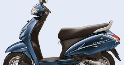 Honda Activa 3G scooter dark blue colour image HD