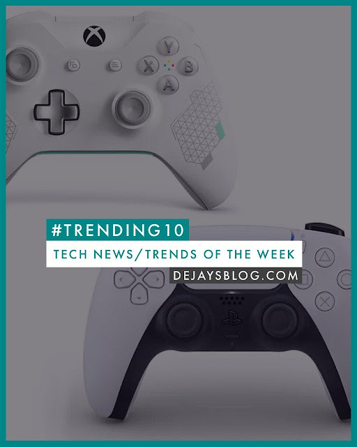 #TRENDING10 - Top 10 Tech News / Trends of the Week #15: Apple, Google & COVID-19, Sony, Netfix, and more!