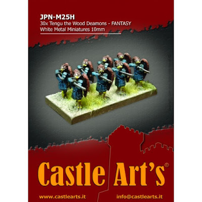 New 10mm TENGU Regiment from Castle Arts