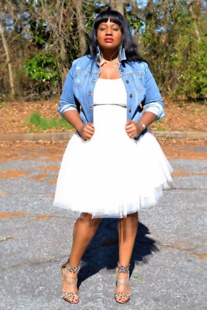 falda tutu mujer plus size