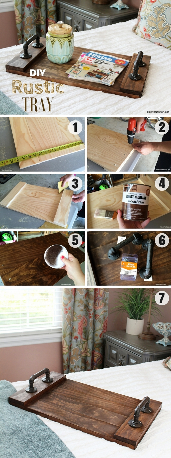 17 Awesome DIY Wood Craft Ideas For House Design