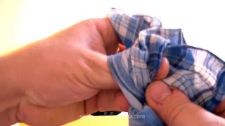 Manualidades y trucos con nudos en el pañuelo. Revelacion 09