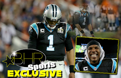 Panthers QB Cam Newton Responds To Critics Claiming He's a Sore Loser, After Their Big Loss To The Denver Broncos
