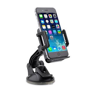SALE :  TaoTronics Car Phone Holder, Cars Mount, Universal Cradle Windshield for iPhone £6.79