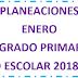 PLANEACIÓN (enero) 3° PRIMARIA CICLO ESCOLAR 2018-2019.
