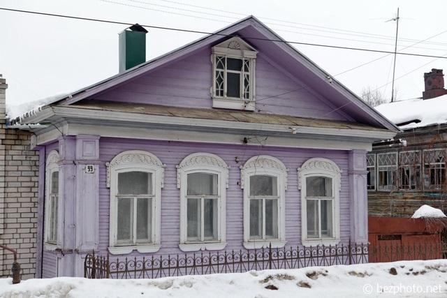 городец деревянные дома