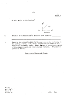 Australian UFO Report Forms Circa 1980's 2 of 6