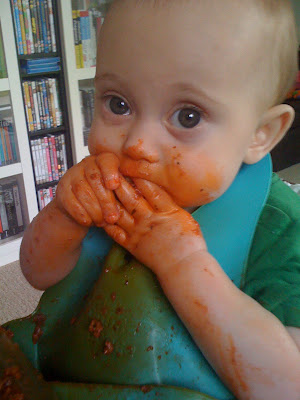 The Gallery, Hands, messy, baby led weaning