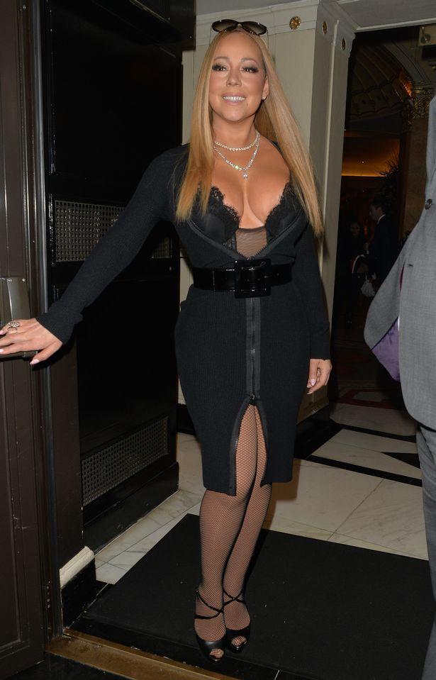 Mariah-Carey-Seen-At-The-Dorchester-Hotel-In-London (1)