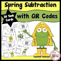 Spring Subtraction using QR Codes