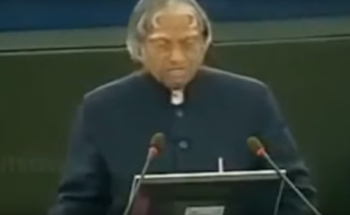 Text : Abdul Kalam's Speech at European Union Conference