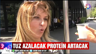 yeni ayar Tuz azalacak Protein artacak