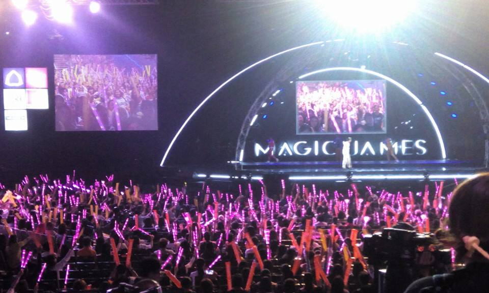 """MAGIC JAMES THE CONCERT"""