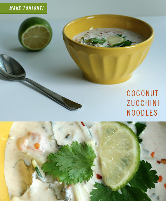 Make this tonight: Coconut zucchini noodles