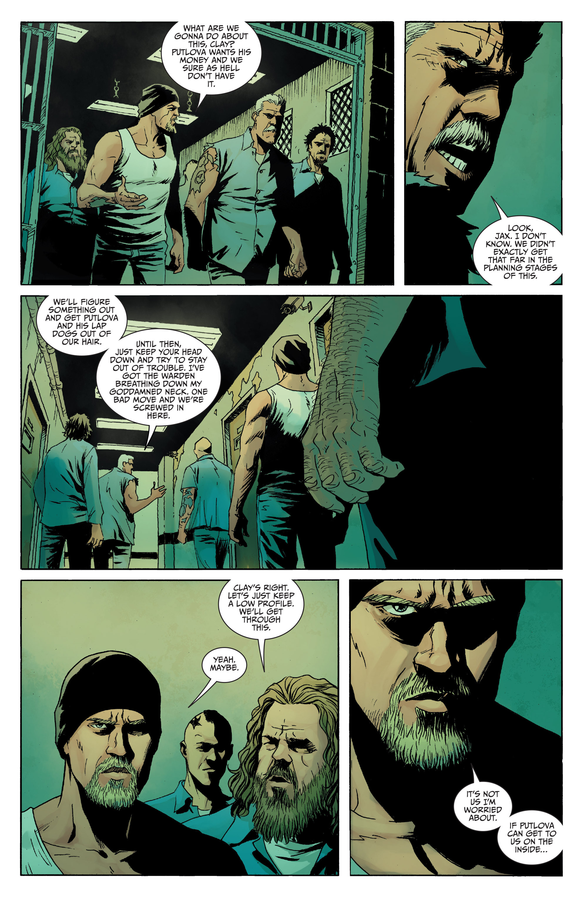 Read online Sons of Anarchy comic -  Issue #8 - 12