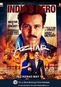 Download Azhar (2016) Movie 300MB DVDScr