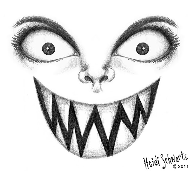 Heidi Schwartz: Creepy Halloween Sketches