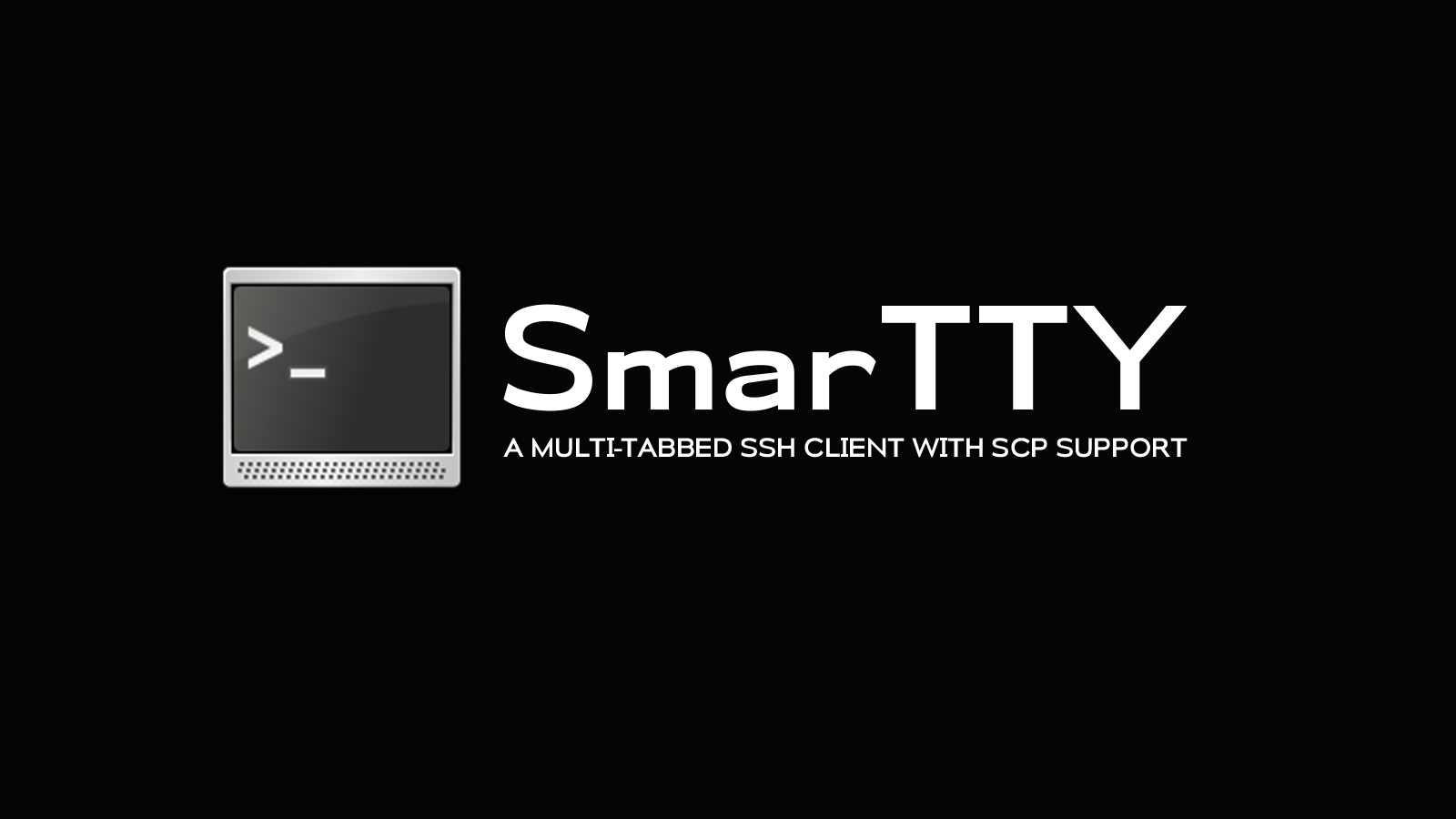 SmarTTY - A Multi-tabbed SSH Client with SCP Support
