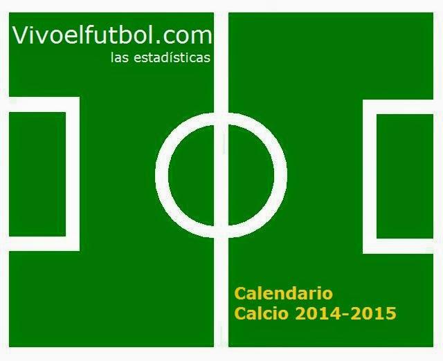 Como Calcio Calendario.Calendario Calcio 2014 2015 Futbol Italiano Apuntes De Futbol