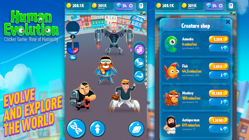 Download Human Evolution Clicker Game Mod APK cho Android