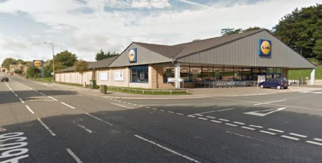 Two men arrested after burglary at Lidl supermarket, Carr House Road, Shelf
