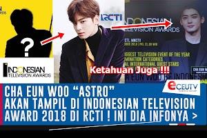 Cha Eun Woo Pemain ID Gangnam Beauty akan jadi Bintang Tamu INDONESIAN TELEVISION AWARDS 2018 di RCTI