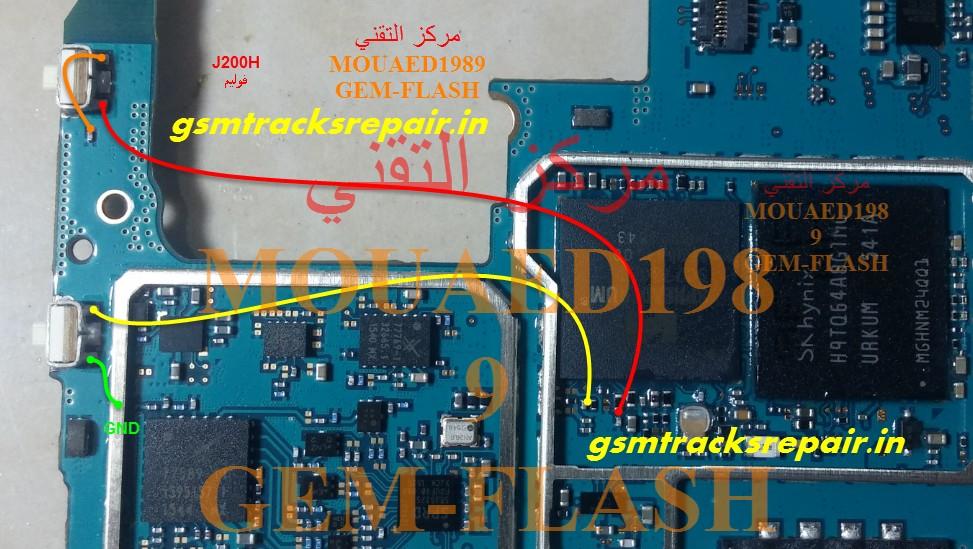 Samsung Galaxy SM-J200F Volume Key Button Ways Solution ...