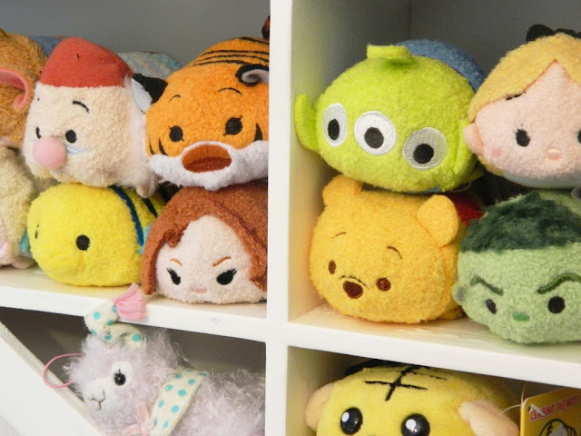 Kawaii Tsum Tsum Heart Shelves