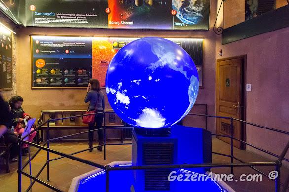 ışıklı yer küresi, Rahmi M. Koç Müzesi İstanbul