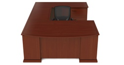 U Shaped Home Office Desk