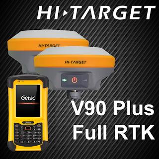 Gps Geodetik RTK V90 Hi Target