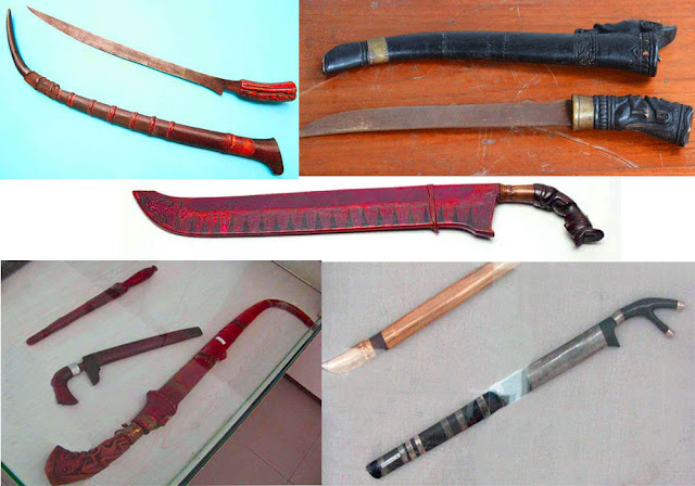 Gambar 9 Senjata Tradisional Sumatera Utara