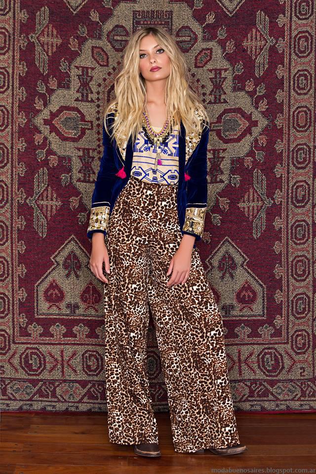 Moda invierno 2016 ropa de moda Sophya, Moda 2016 pantalones palazzo.